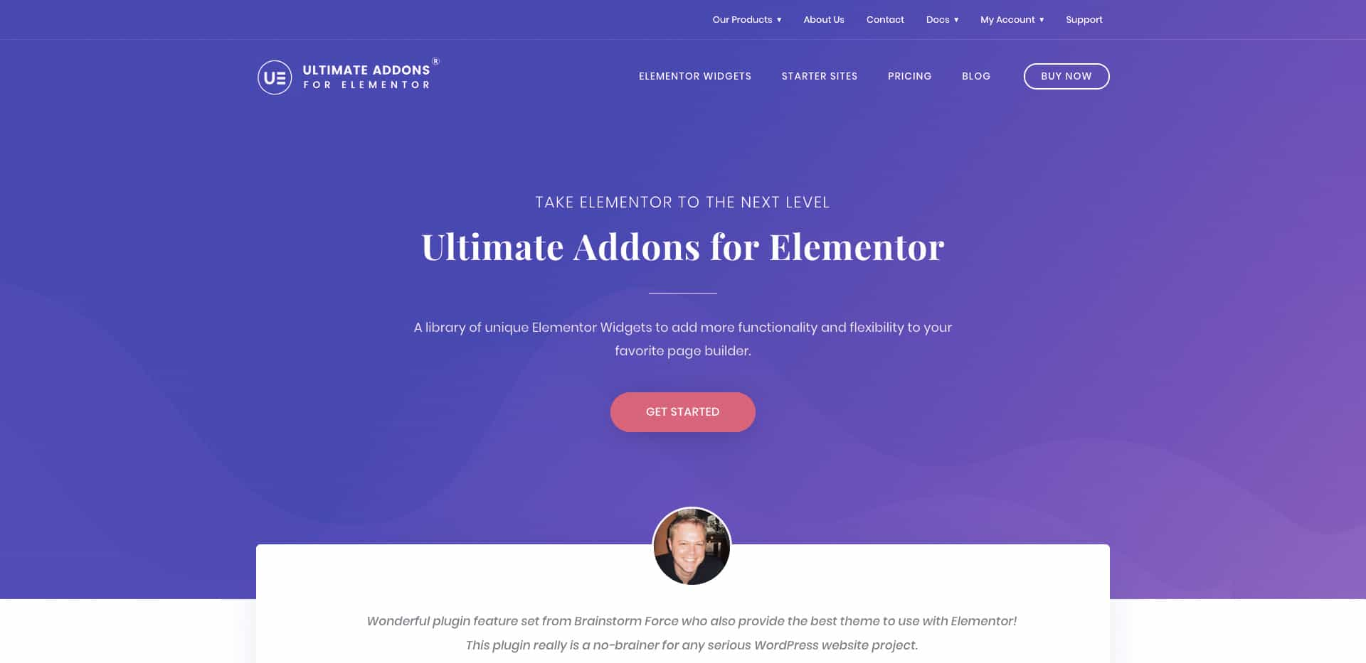 wp-ultimate add-on elementor