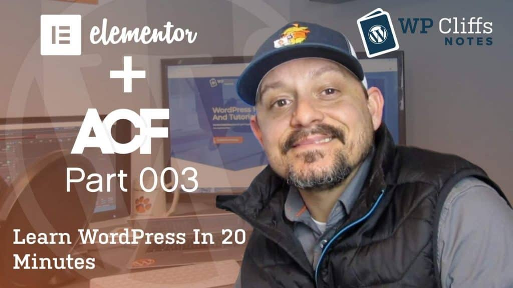 Elementor and ACF – Part003